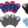 Pet Life Anti-Slip Dog Socks with Rubberized Soles