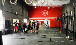 Tonic Crossfit: 10 or 20 CrossFit Classes at Tonic CrossFit (Up to 56% Off)