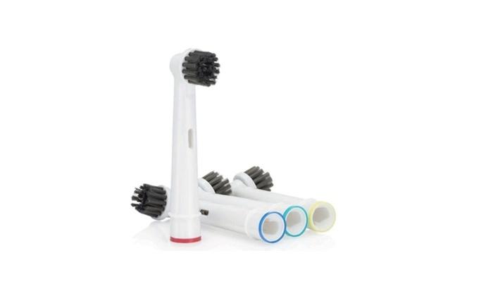 3 Oral B CROSS ACTION SPAZZOLE ORIGINALE OralB Spazzole di Ricambio Spazzolino