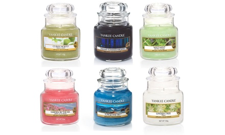 Yankee Candle Six Assorted Small Jars