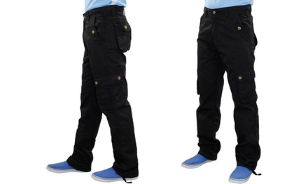 True Face Mens Cargo Trousers