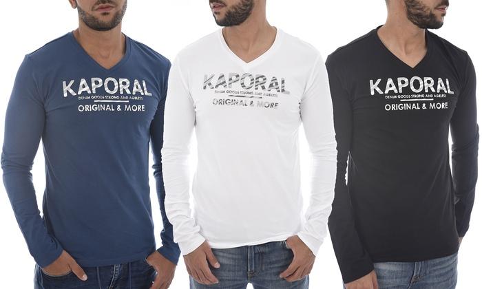 T-Shirt Kaporal Homme | Groupon