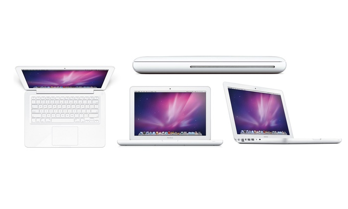 missing discount value apple macbook a1342 reconditionn groupon. Black Bedroom Furniture Sets. Home Design Ideas