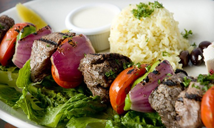 Canal Bistro Mediterranean Grille - Broad Ripple: $11 for $20 Worth of Mediterranean Food or Date Night for Two at Canal Bistro Mediterranean Grille