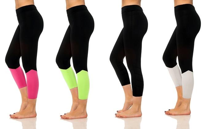 Women's Regular and Plus Size Active Capris