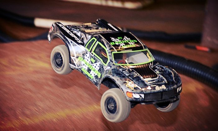 Basher's RC Raceway - South Park Center: $20 for One Hour of Remote-Control Racing for Two at Basher's RC Raceway ($40 Value)