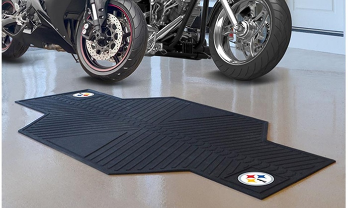 NFL Motorcycle Garage Mat