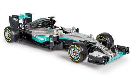 One or Two Bburago 1:18 Mercedes F1 Lewis Hamilton DieCast Models With Free Delivery