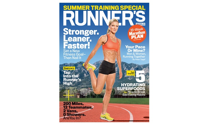 One or Two-Year Subscription to Runner's World Plus Bonus Issues