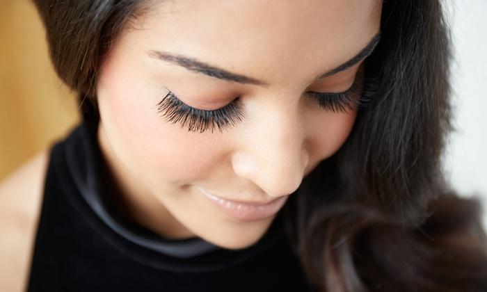 lash + beauty - Newbury Park: Half Set of Eyelash Extensions at lash + beauty (50% Off)
