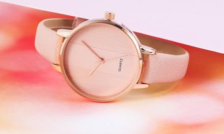 Relojes para mujer con correa de piel Excellanc