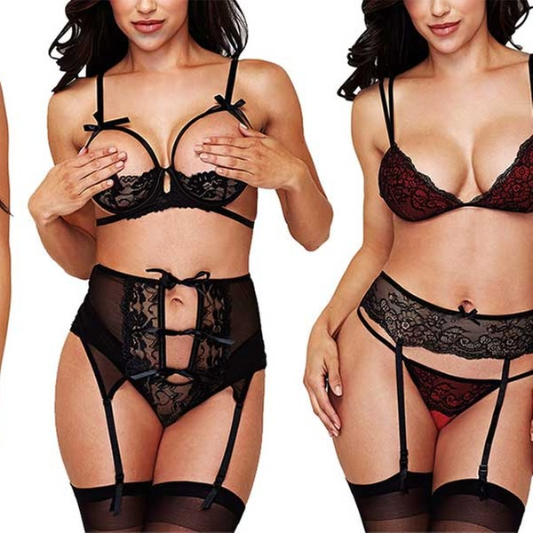 462cd659e03 Up To 17% Off on Baci Women s Lingerie Set