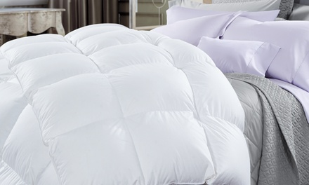 for a Deluxe Pure Soft Duck Down Rich 500GSM Quilt and 1000GSM Duck Pillows Twin Pack Don't Pay up to $518