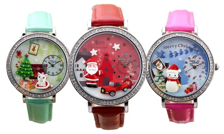 Christmas-Themed Watches from AED 59 (Up to 68% Off)