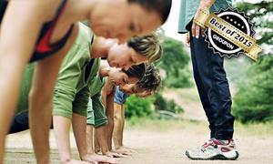 V Training: 1 Monat Premium Outdoor-Fitness im V Training Bootcamp Köln ab 19,90 € (bis zu 68% sparen*)