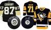 Sidney Crosby and Evgeni Malkin Autographed Memorabilia: Sidney Crosby and Evgeni Malkin Autographed Memorabilia