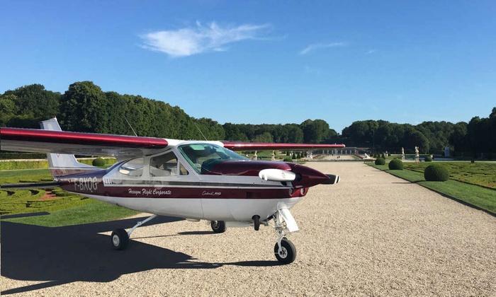 Vol en co-avionnage de 30, 45 ou 60 min à bord d'un avion pour 1, 2 ou 3 pers. dès 59,90 € avec Hexagon Flight Corporate