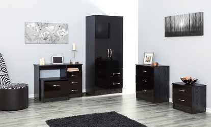 Groupon Gloss Combi Bedroom Furniture