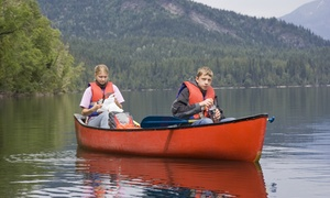 Bridge 8 Hub: Half or Full Day Canoe, Mountain Bike, Kayak or Paddleboard Hire with Bridge 8 Hub (Up to 53 % Off)