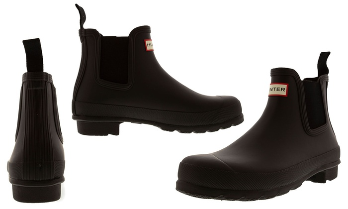 Up To 33 Off On Hunter Women S Rubber Rain Boots Groupon Goods