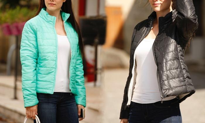Lightweight Padded Jacket | Groupon Goods