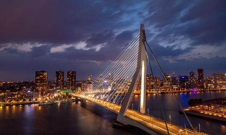 Rotterdam 4*: camera doppia/matrimoniale con colazione per 2 a 81,90€euro