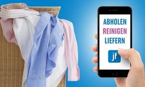 Jonny Fresh: Wertgutschein über 20 € o. 40 € anrechenbar auf Textilreinigung f. Frankfurt, Hamburg, Hannover o. Köln bei Jonny Fresh