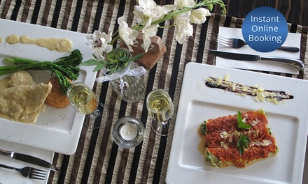 ThreeCourse Italian Meal with Prosecco for Two $85 or Four People $165 at FBI, Wembley Up to $236 Value