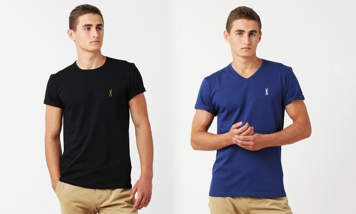 Three Edward OrlovskiR-Neck or V-Neck T-Shirts for £19.99