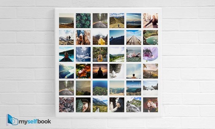 Fotoobraz w rożnych rozmiarach z Twoimi zdjęciami od 35 zł na stronie Myselfbook.pl (do -51%)