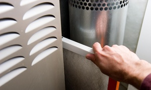 BUDGET HEATING AND AIR CONDITIONING: Furnace Tune-Up and Safety Inspection from Budget Heating & Air (45% Off)