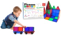 Groupon.com deals on Picasso Tiles 3D Magnetic Building Block Sets 2-Piece Truck Set