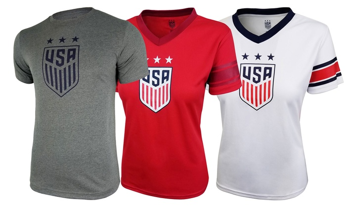 separation shoes 8cd7b 00e47 Up To 8% Off on U.S. Soccer USWNT T-Shirt | Groupon Goods