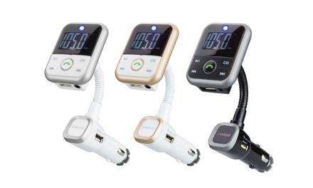 Kit vivavoce Bluetooth per auto disponibile in 3 colori