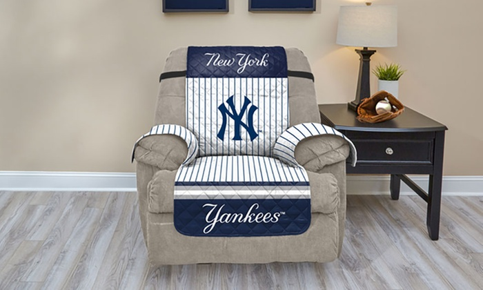 Sensational Up To 45 Off On Mlb Licensed Furniture Protector Groupon Lamtechconsult Wood Chair Design Ideas Lamtechconsultcom