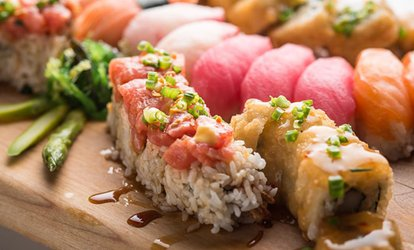 image for <strong>Sushi</strong> for Two or Four at California Rollin' (Up to 45% Off)