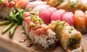 California Rollin': Sushi for Two or Four at California Rollin' (Up to 50% Off)
