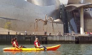 Bilbao Kayak: Ruta en kayak o en stand up paddle para 2, 4 o 6 personas desde 14,90 € en Bilbao Kayak