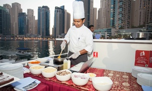 Xclusive Yachts: Sunset Cruise with an International Buffet and Free-Flowing Soft Drinks for Up to Four with Xclusive Yachts (34% Off)