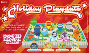 Holiday Playdate: Holiday Playdate Tickets from $30.50, 15-17 December 2017 - Sesame Street , Ben & Holly, Ice Age Ice Rink plus more...
