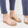 Sandales à brides à élastiques