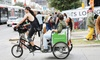 Metrocycle Pedicabs - East Cesar Chavez: 2.5-Hour Guided Pedicab Tour of Downtown or Breweries for Two or Three from Metrocycle Pedicabs (Up to 31% Off)