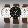 Stührling Original Men's Monaco Leather Strap Watch