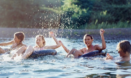 Tubing, Rafting, or Kayaking Trip with BBQ from Delaware River Tubing (Up to 21% Off). 6 Options Available.