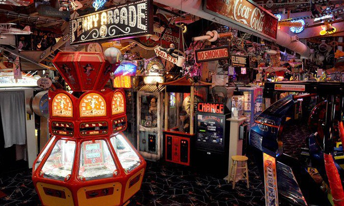 Marvin's Marvelous Mechanical Museum - Farmington Hills: Arcade Outing for Two or Four or Party for 10 at Marvin's Marvelous Mechanical Museum (Up to 52% Off)
