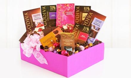 California Delicious Godiva Valentine Box of Temptations (8-Piece)