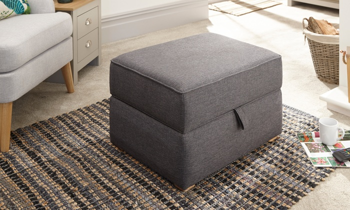 Square Ottoman Storage Footstool from £85 (14% OFF)
