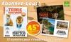 Abonnement d'1 an au magazine Terre Sauvage à 30€ au lieu de 55€