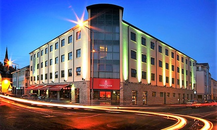 Co. Donegal: 12 Nights for Two with Breakfast and Hot Drink and Muffin on Arrival at Station House Hotel Letterkenny