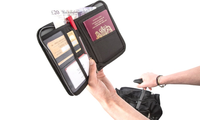 Up to Ten Travel Document and Passport Holders